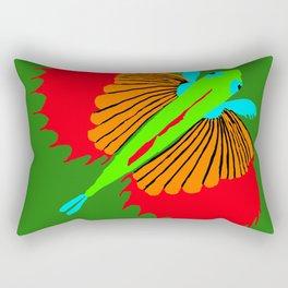 The Spectacular Flying Fish Rectangular Pillow