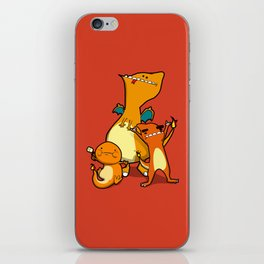Pokémon - Number 4, 5 & 6 iPhone Skin