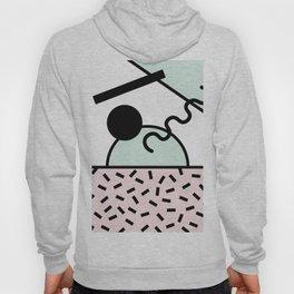 Funky eighties fresh colors graphic memphis design Hoody