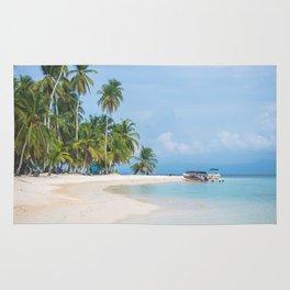 The San Blas Islands in Panama. Isla Iguana Rug