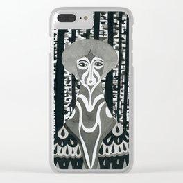 Birch witch Clear iPhone Case