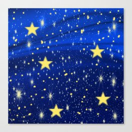 Starry, Starry Nights... Canvas Print