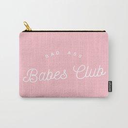 BADASS BABES CLUB PINK Carry-All Pouch