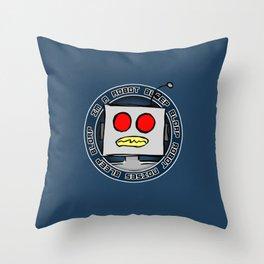 Robot Noises Throw Pillow