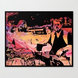 The Dude Abides Canvas Print