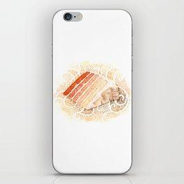 Ombre Cake Slice iPhone Skin