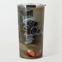 Sekonic and Strawberries Travel Mug