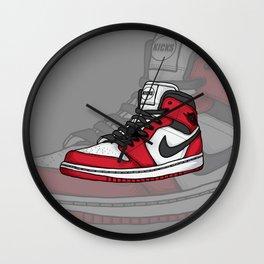 Jordan1-OG Chicago Wall Clock