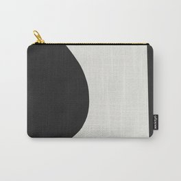 Minimal Black Carry-All Pouch