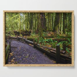 Cathedral Grove, Vancouver Island BC Serving Tray