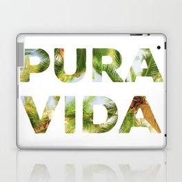 Pura Vida Costa Rica Palm Trees Laptop & iPad Skin