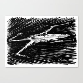 X-Wing Canvas Print