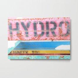 HYDRO Metal Print
