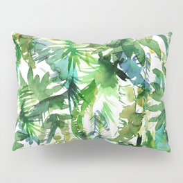 VIBE of the Jungle  {A-green} Pillow Sham