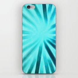 Intersecting-Aqua iPhone Skin