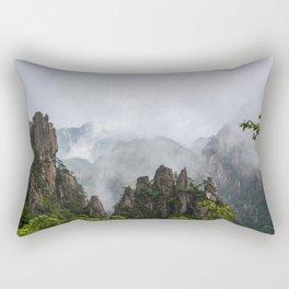 Settling Fog Rectangular Pillow