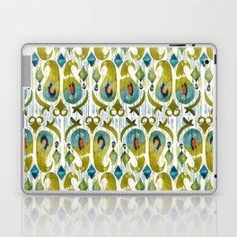 indian cucumbers balinese ikat print mini Laptop & iPad Skin