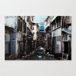 Malaysian Alley Canvas Print