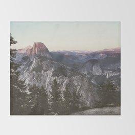 Great Nights in Yosemite Throw Blanket