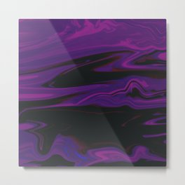 space purple Metal Print