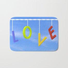 Love Is In The Air Bath Mat