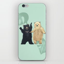 Dancing Bears iPhone Skin