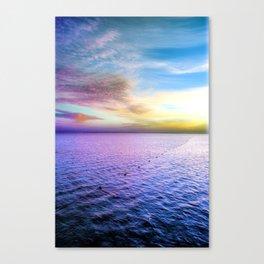 Sharm Sunrise 1 Canvas Print