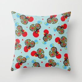 Rooster of Barcelos | Portuguese Lucky Charm Throw Pillow