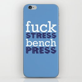 Bench iPhone Skin