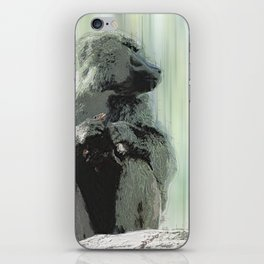 Baboon Distractions iPhone Skin