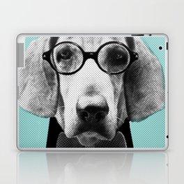Mr Italian Bloodhound the Hipster Laptop & iPad Skin