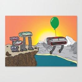 Travel the World Canvas Print