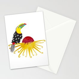 Toucan in the sun Stationery Cards