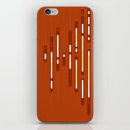 Abstract Sunset Dream – Orange / Yellow / Red Abstract Print iPhone Skin
