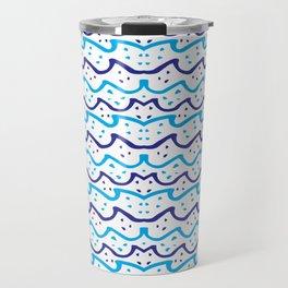 Modern Fashion Pattern Art Design Travel Mug