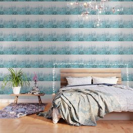 Snowy Pines Wallpaper