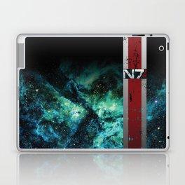 N7 Battle Damaged Armor Laptop & iPad Skin