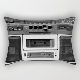 cassette recorder / audio player - 80s radio Rectangular Pillow