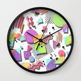 Rad 80s Memphis Wall Clock