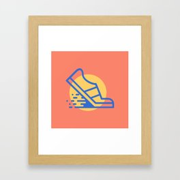 Run3 Framed Art Print