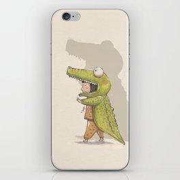 BOOO!! iPhone Skin