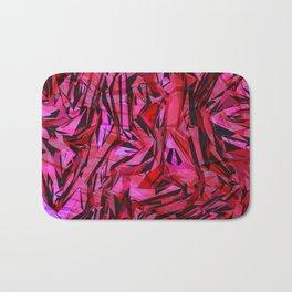 red flow Bath Mat