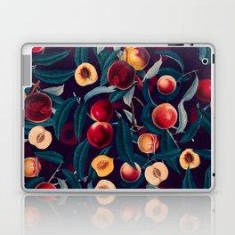 Nectarine and Leaf pattern Laptop & iPad Skin