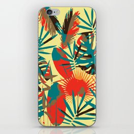 Abstract Exotique Leaves iPhone Skin