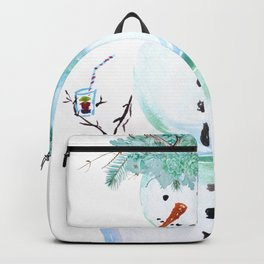SNOWMAN PARTY ANIMAL Backpack