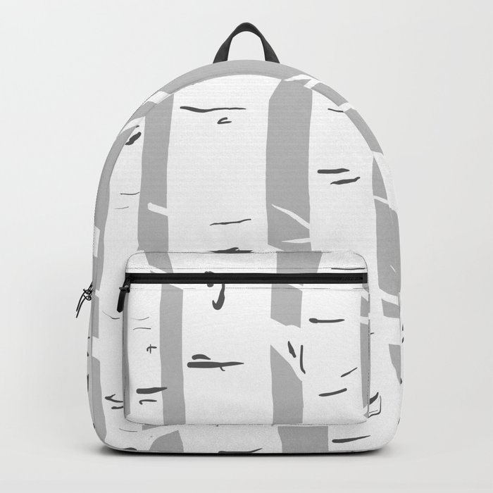 Gray Birches Backpack
