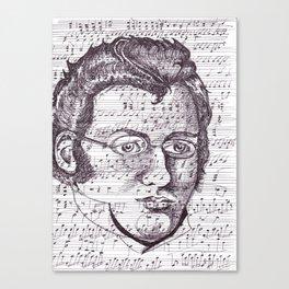 Schubert Canvas Print