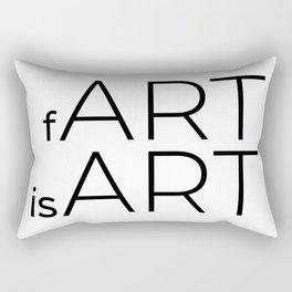 fArt is Art Rectangular Pillow