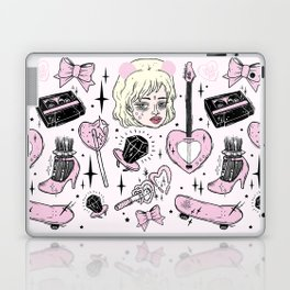 GRRRL POWER Laptop & iPad Skin