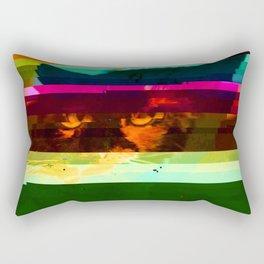 Glitch Sparks Rectangular Pillow